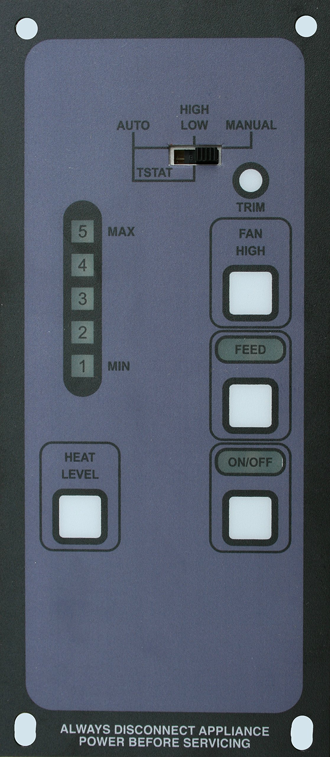 Bosca Spirit/Soul 5-Level Pellet Stove Digital Control Replacement Direct from Manufacturer by Bosca
