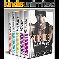 Forbidden Bad Boys: A SMALL TOWN FORBIDDEN ROMANCE BOX SET