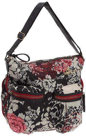 Damen Handtasche Tasche FOLDED PARADISO Mehrfarbig 18SAXFCC-8011 Desigual IWcMW