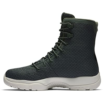 new concept c8f65 e7cbe Amazon.com   Nike Mens Jordan Future Boot Grove Green Grove Green-Light  Bone 8   Road Running