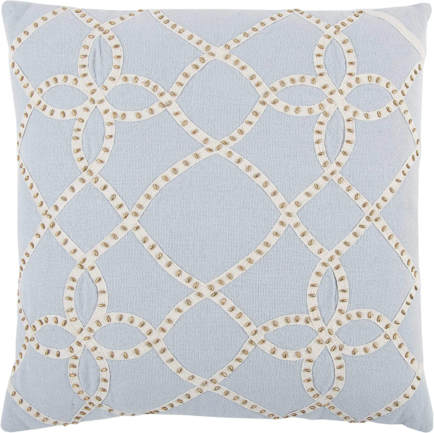 Rizzy Home Trellis Decorative Polyester Filled Pillow, 20