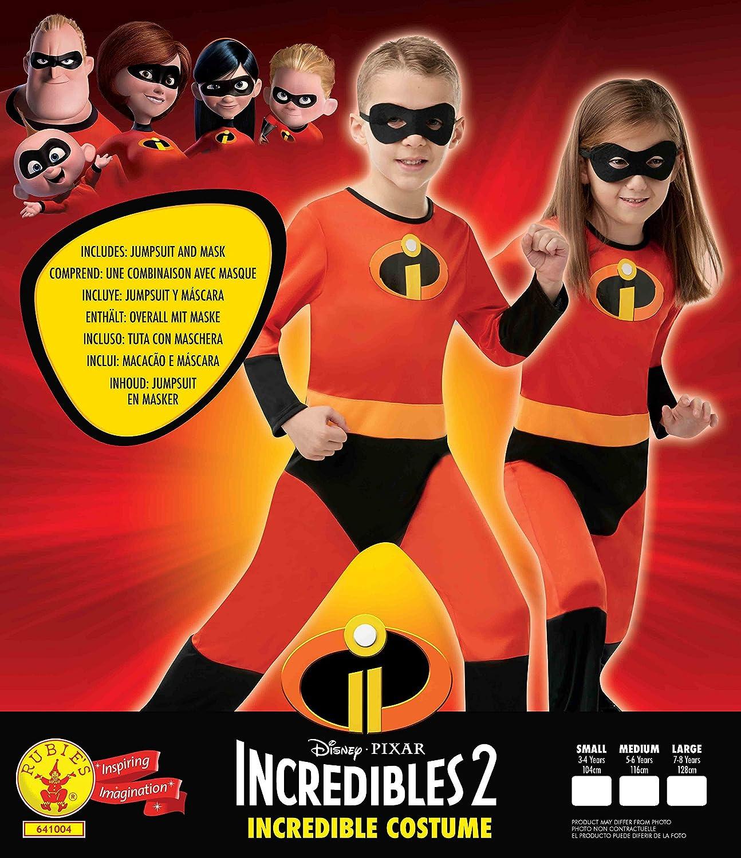Los IncreÍbles - Disfraz Dash Classic Inf, Multicolor, L (Rubies 641004-L): Amazon.es: Juguetes y juegos
