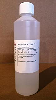 100ml Mistral Pure Silicone Oil 50 cPs Low Viscosity
