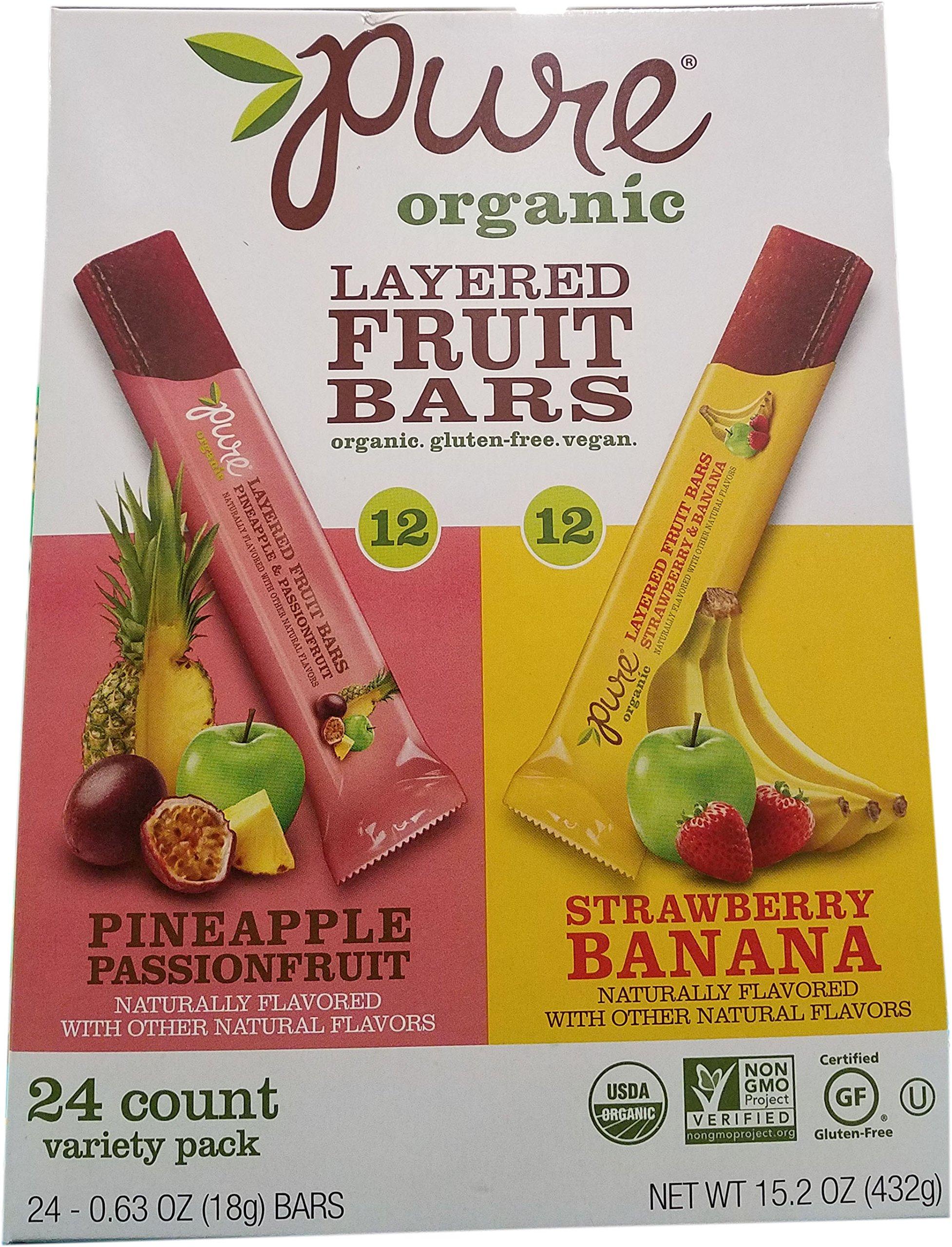 Pure Organic Layer Fruit Bar, 15.2 Ounce