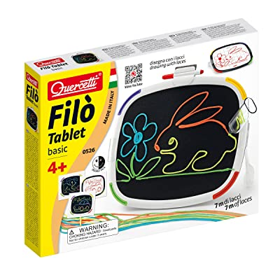 Quercetti Filo Tablet Basic Toy: Toys & Games