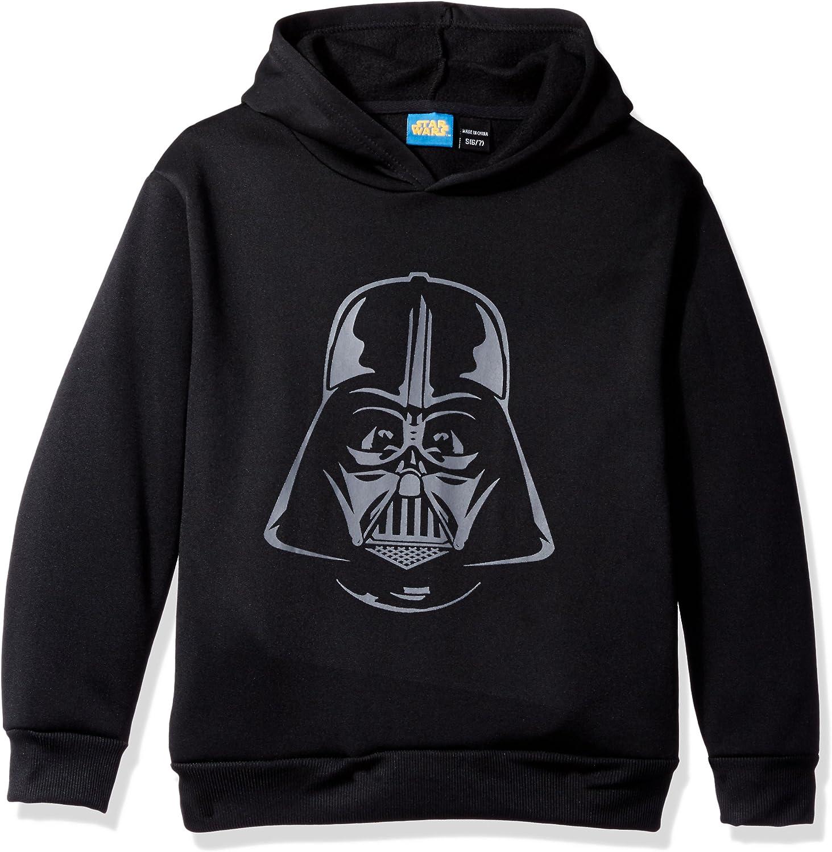 Star Wars Big Boys Darth Vader Helmet Fleece Pullover