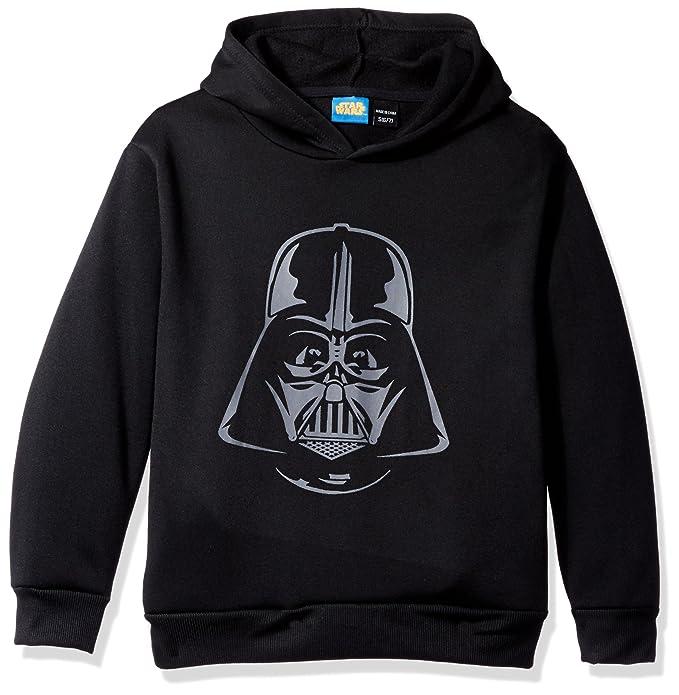 detailed look c2093 78431 Star Wars Big Boys  Darth Vader Helmet Fleece Pullover, Black, Small (6