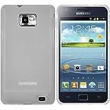 mumbi TPU Schutzhülle Samsung Galaxy S2 Plus i9105P Hülle transparent weiss