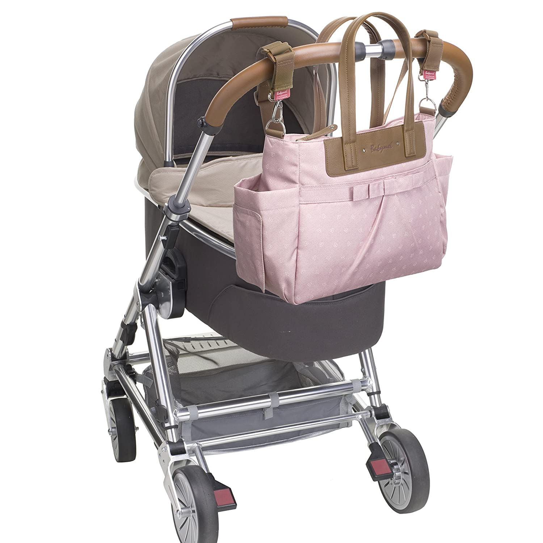 Babymel Cara Bloom Diaper Shoulder Bag Dusty Pink