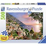 Ravensburger Positano Large Format 500 Piece Jigsaw Puzzle for Adults – Every Piece is Unique, Softclick Technology…