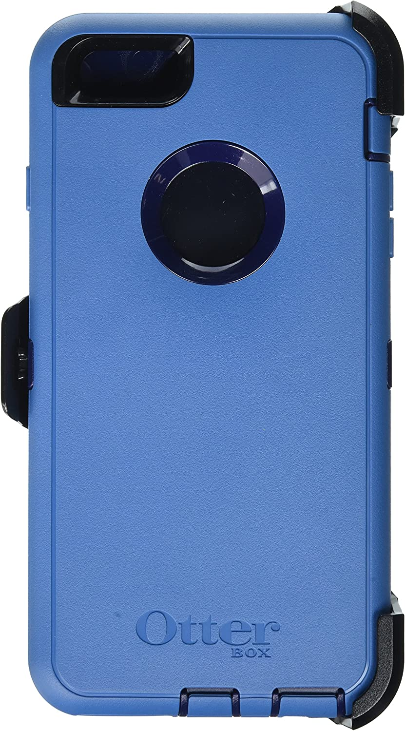 OtterBox Defender Cell Phone Case for iPhone 6 Plus - Frustration-Free Packaging - Ink Blue