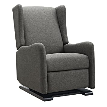 Bon Baby Relax Rylee Gliding Recliner, Gray