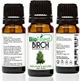 BioFinest Birch Oil - 100% Pure Birch Essential Oil - Fight Arthritis, Muscle & Joint Paint - Premium Quality - Therapeutic Grade - Best For Aromatherapy - FREE E-Book (10ml)