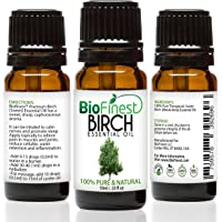 BioFinest Birch Oil - 100% Pure Birch Essential Oil - Fight Arthritis, Muscle & Joint Pain - Quality - Therapeutic Grade…
