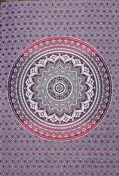 2 opinioni per Arazzo, motivo: mandala, stile hippie