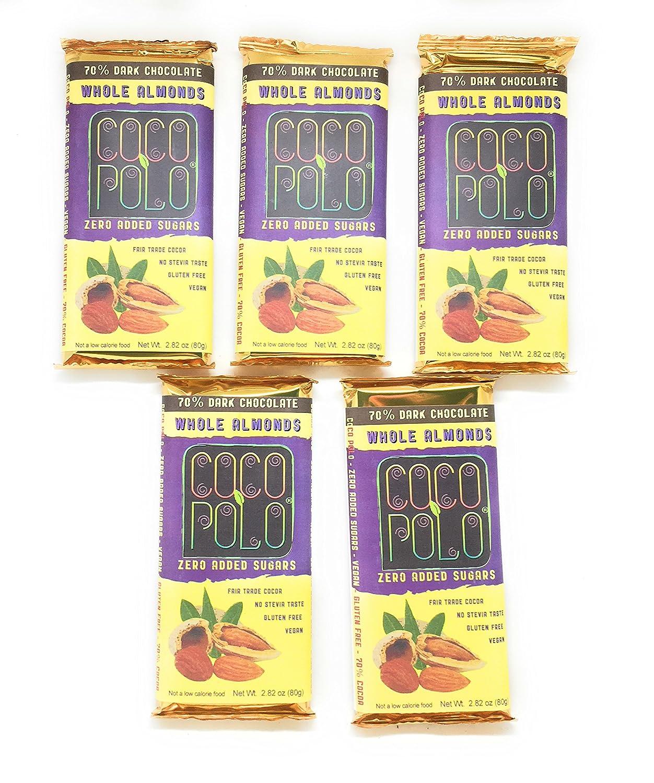 Coco Polo Barras de chocolate con leche de cacao (Pack de 5): Amazon.es: Alimentación y bebidas