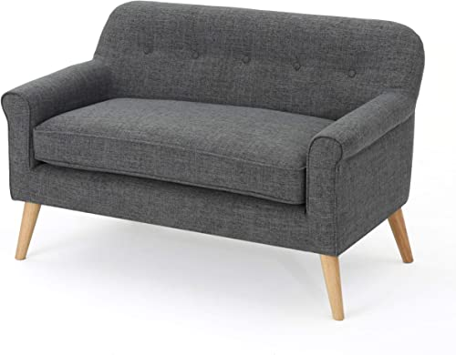 Christopher Knight Home Mariah Mid-Century Modern Loveseat