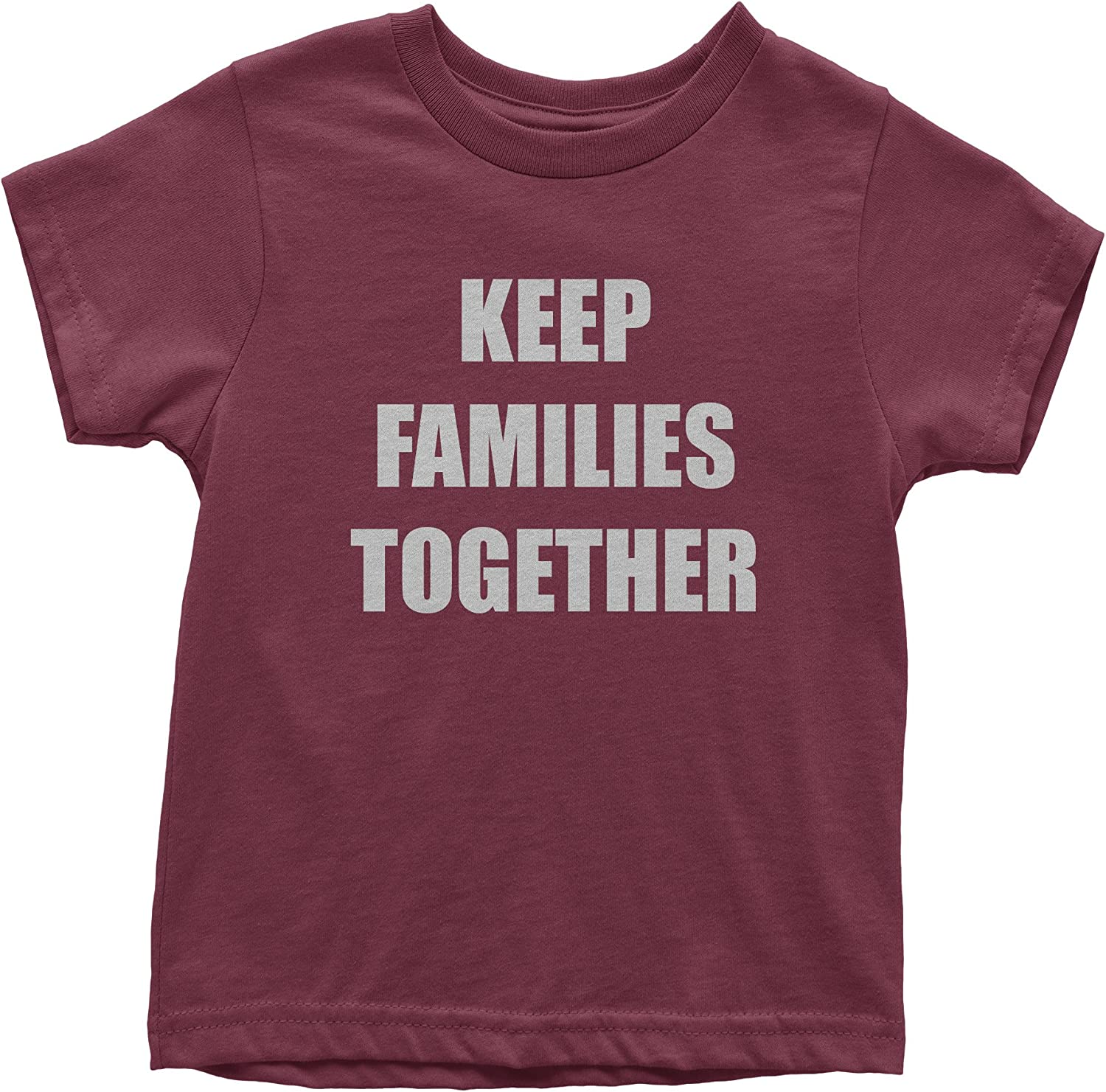 FerociTees Keep Families Together ICE Immigration Protest Youth T-Shirt