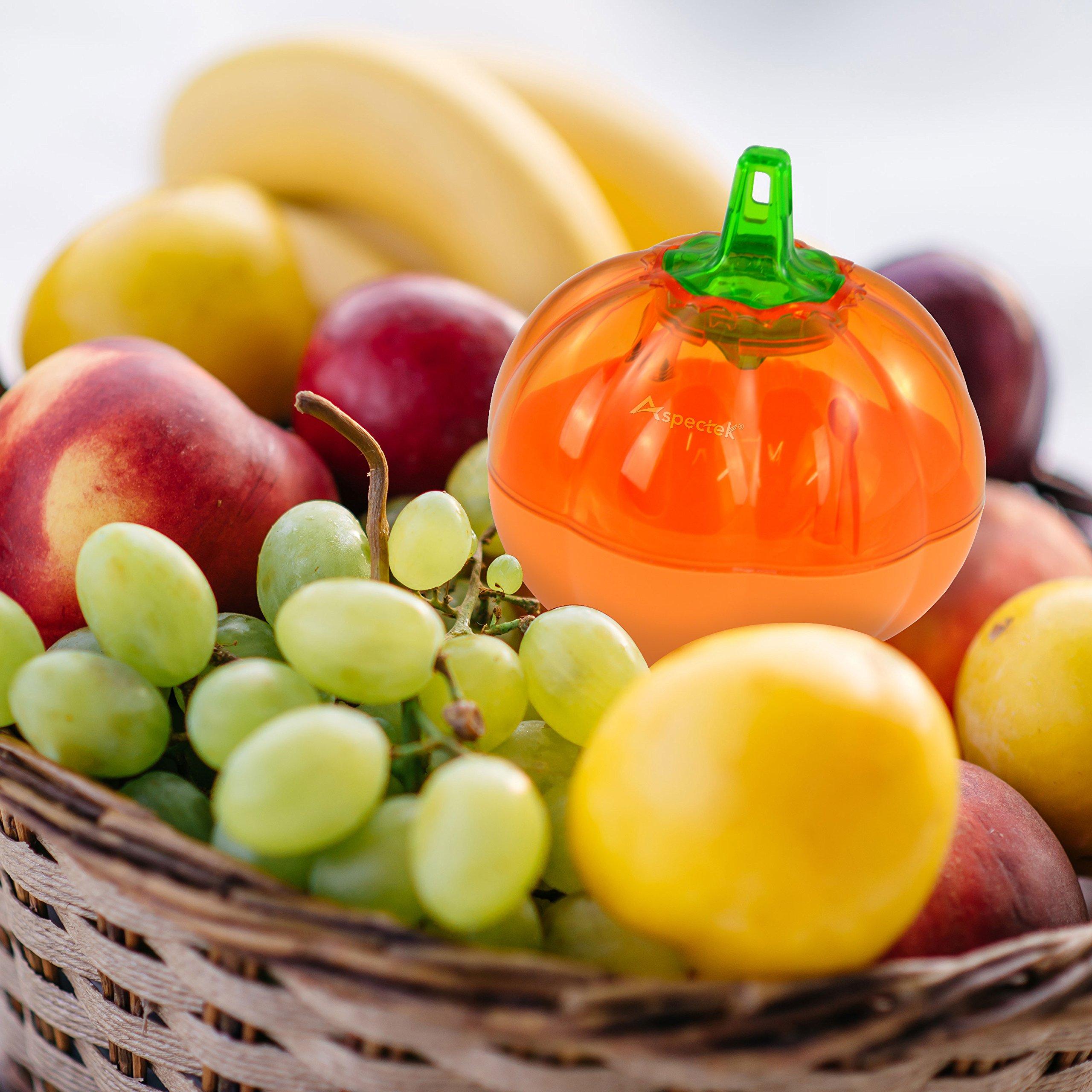 Aspectek Fruit Fly Trap, Pumpkin Shape, Pack of 2 by Aspectek (Image #6)