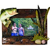 River's Edge Beautiful Genuine Firwood 4 x 6 Picture Frame