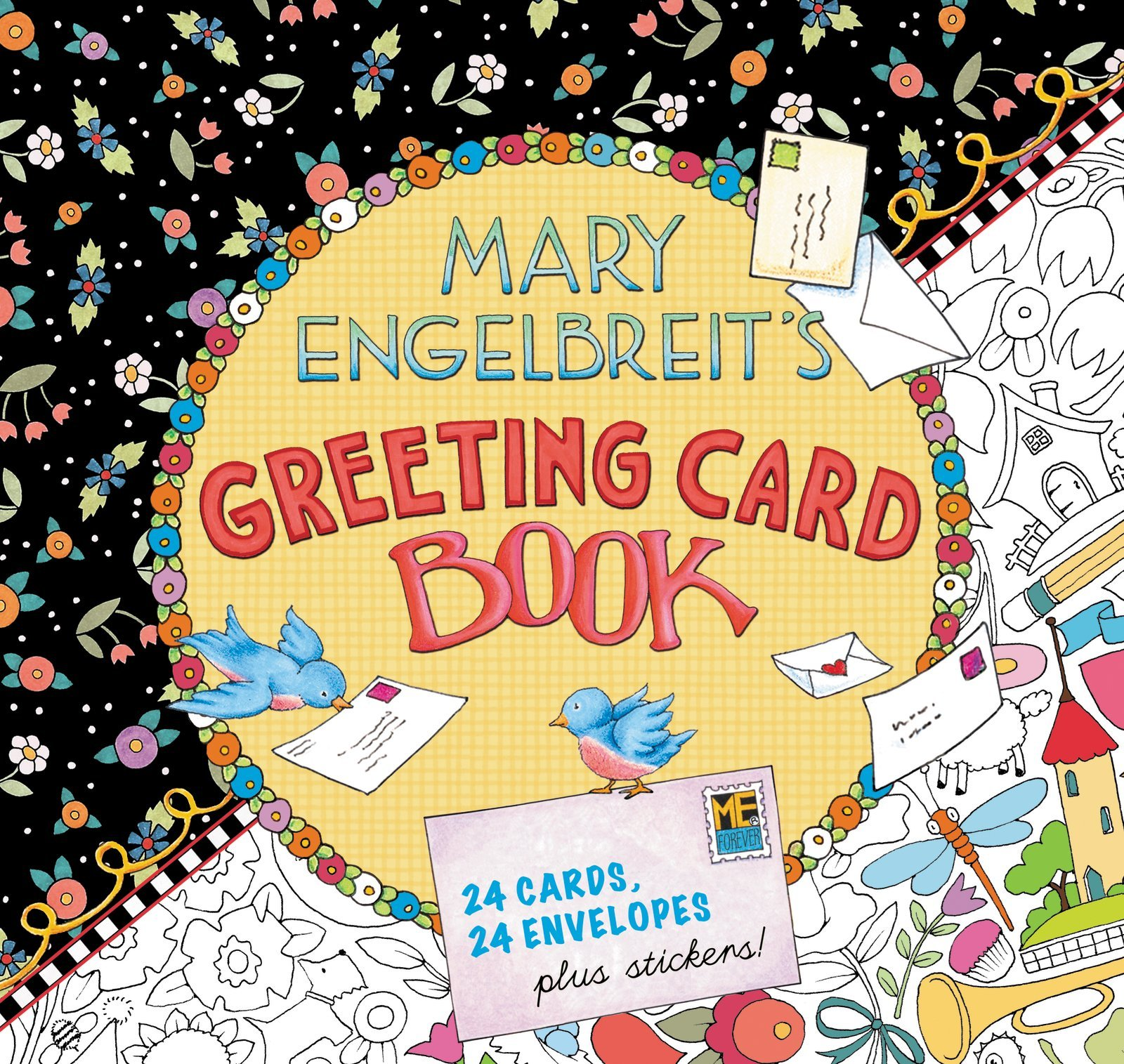 Mary Engelbreit\'s Greeting Card Book: 24 Cards, 24 Envelopes, Plus ...