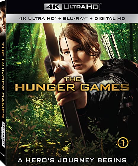 Amazon in: Buy The Hunger Games 4K - Blu-ray - 4K Ultra HD +