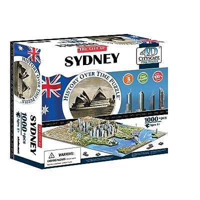 4D Cityscape Sydney Time Puzzle: 4DCityscapeInc: Toys & Games