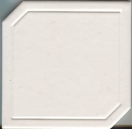 About 6x6 Ceramic Tile Marquise White Bathroom Field Vintage Wall