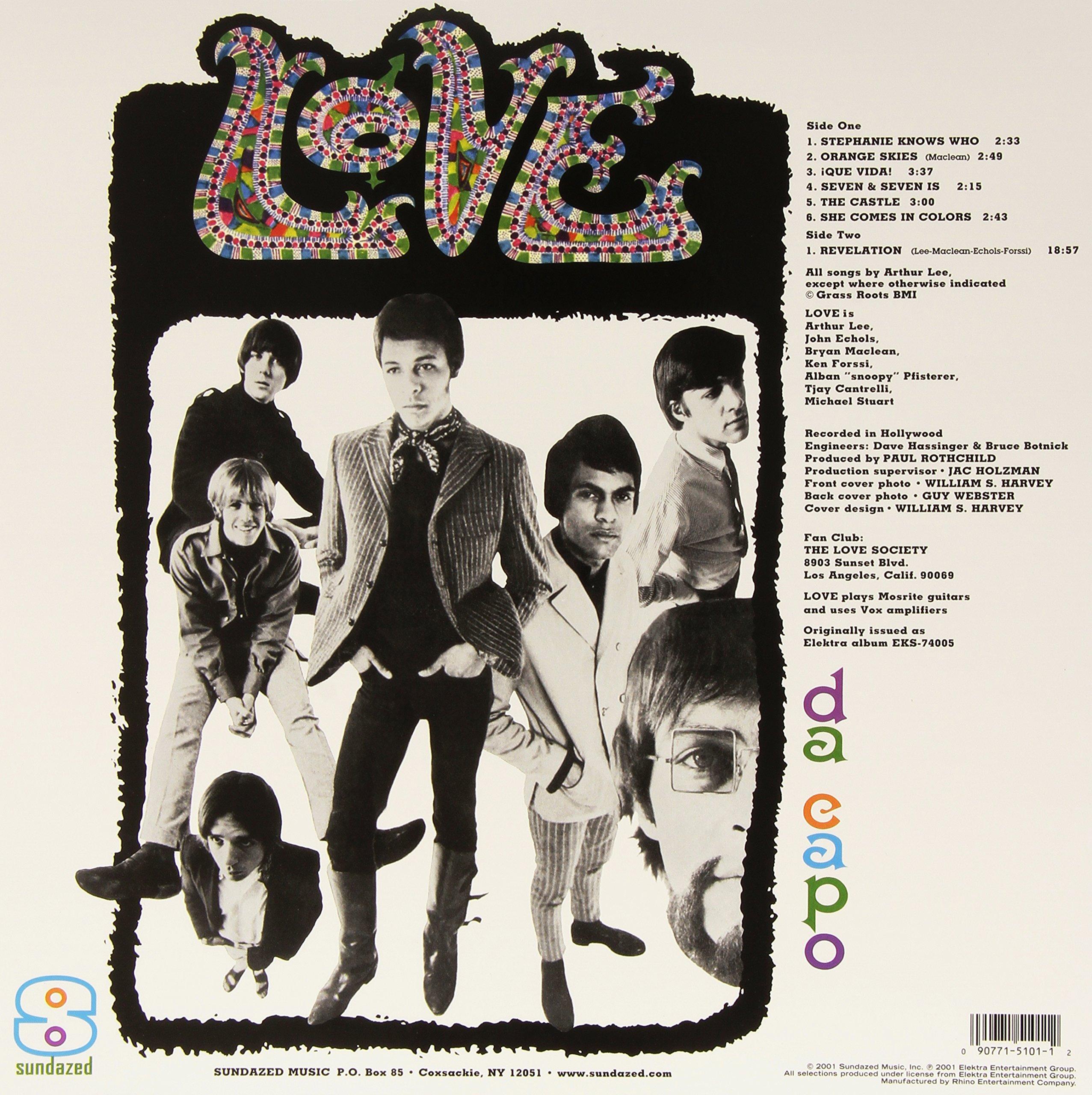 Da Capo [Vinyl] by Love