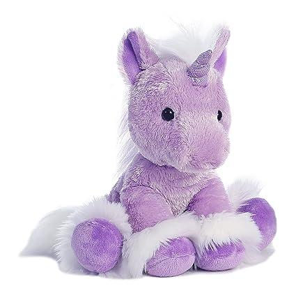 Amazon Com Aurora World Dreaming Of You Plush Unicorn Purple 12