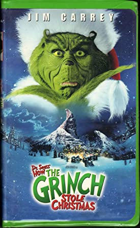 How The Grinch Stole Christmas 2000 Vhs.Amazon Com How The Grinch Stole Christmas 2000 Feature