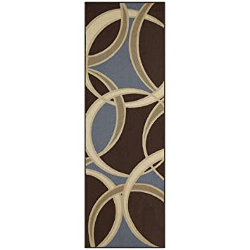 Amazon Com Maples Rugs Circle 2 X 6 Non Skid Hallway Entry Rugs