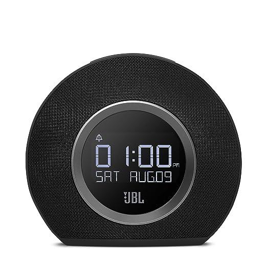 119 opinioni per JBL Horizon BLK Radiosveglia FM Doppia, Wireless, Bluetooth con Ricarica
