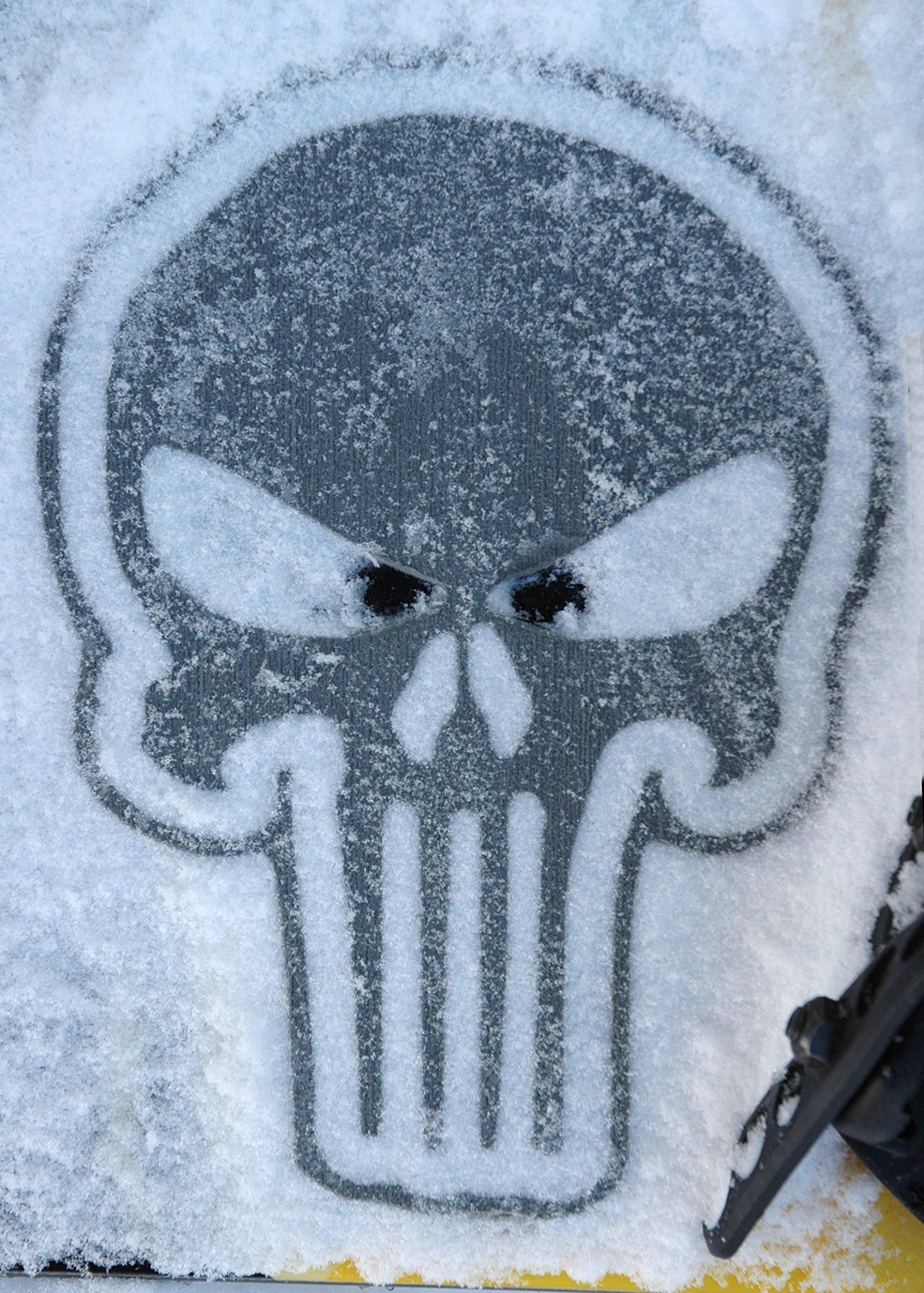 Toejamr Snowboard Stomp Pad Sniper Skull Gray