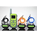 KOOLKANI® 650 Yards Remote Dog Training Collar Obedience Trainer:Rechargeable Waterproof Collar w/10 Levels of Adjustable Static Stimulation,Beep Tone and Vibration