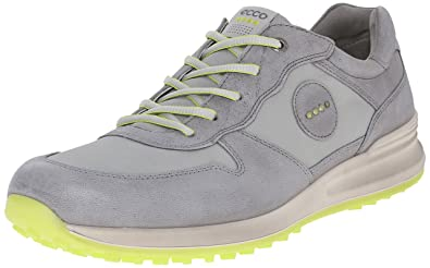 ECCO Men's Speed Hybrid Golf Shoe, Titanium/Wild Dove, 40 EU/6