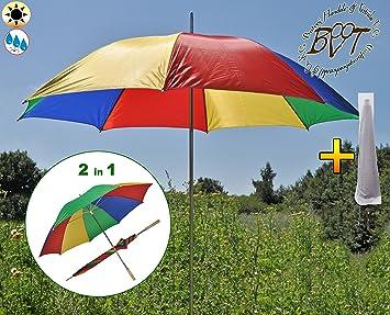 XL Parasol With Large Parasol Cover U2013 Garden Beach Sun Shade Canopy Sun  Shade Shelter Umbrella