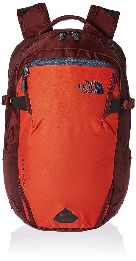 5ce16e526e The North Face Iron Peak Backpack - Tibetan Orange Sequoia Red