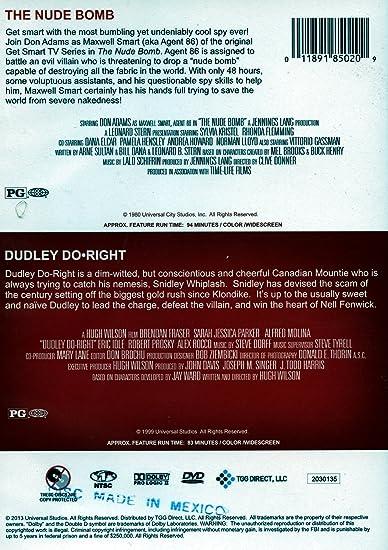 dvd nude bomb