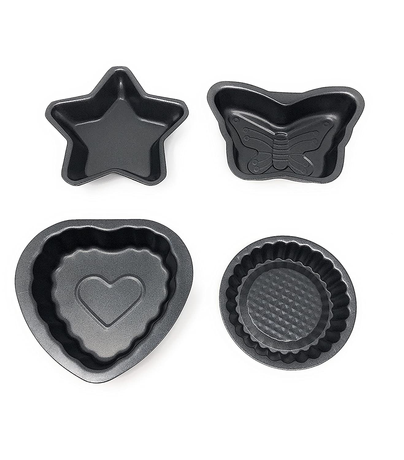Mini Bakeware Set Nonstick Baking Pans Tools (4) Signature 80142