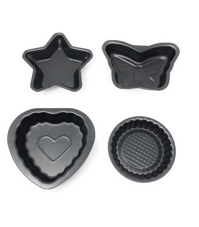 Mini Bakeware Set Nonstick Baking Pans Tools (4) Signature 80142