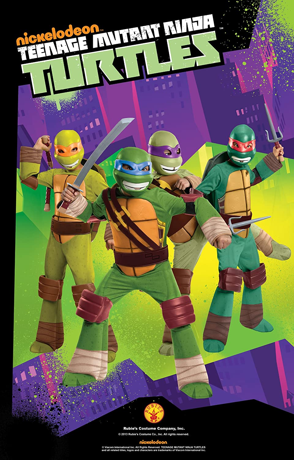 Amazon.com: Rubies Teenage Mutant Ninja Turtles Raphael sais ...