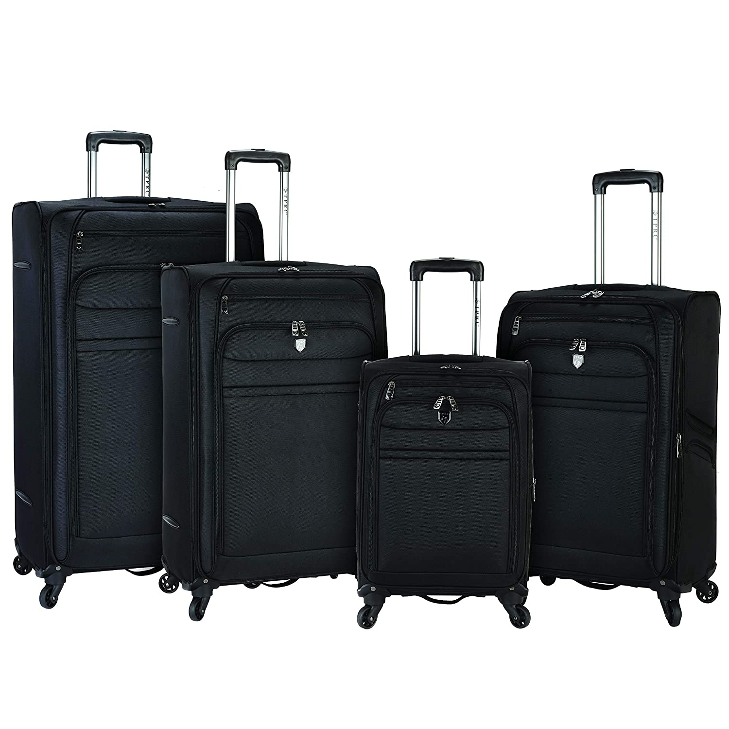 Image of Travelers Club Luggage Business Class Expandable Luggage with Spinner Wheels Luggage