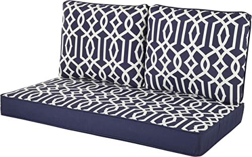 Quality Outdoor Living 29-NL46LV Loveseat Cushion