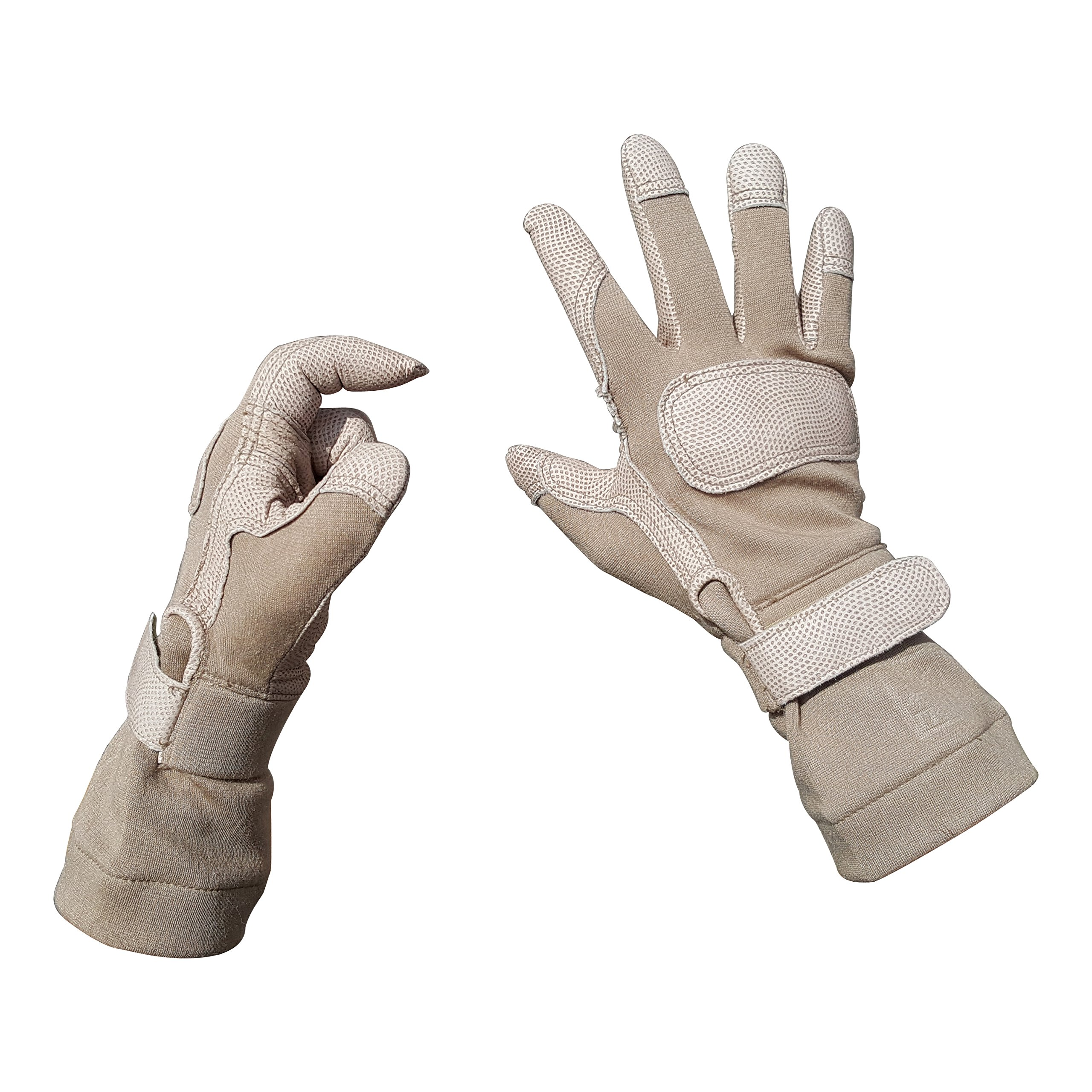 Ansell ActivArmr 46-409 Tan FROG Combat GEC Gloves (Small)