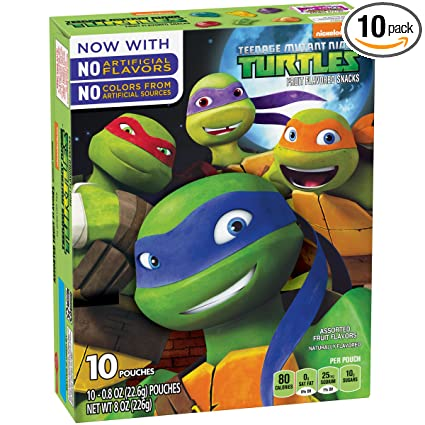 Betty Crocker Teenage Mutant Ninja Turtles - Juego de 10 ...