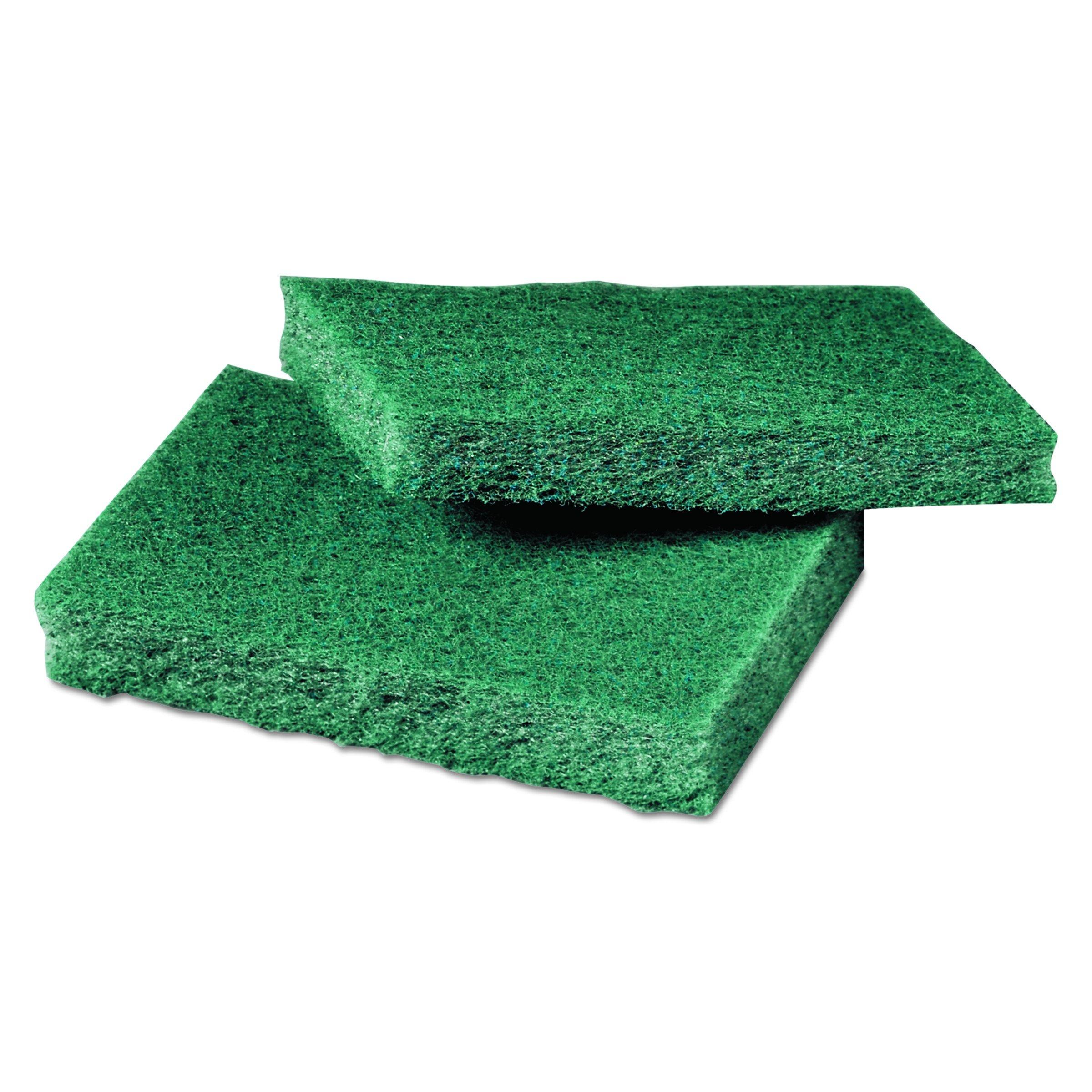 Scotch-Brite PROFESSIONAL 59166 General Purpose Scrub Pad, 3w x 4 1/2l, Green, Box of 40 (Case of 2 Boxes)