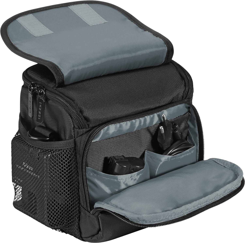 Canon EOS 5D Mark 2 K-r Pedea SLR Camera Bag with Shoulder Strap and Screen Protector for Pentax K-5 K-30 Nikon D800