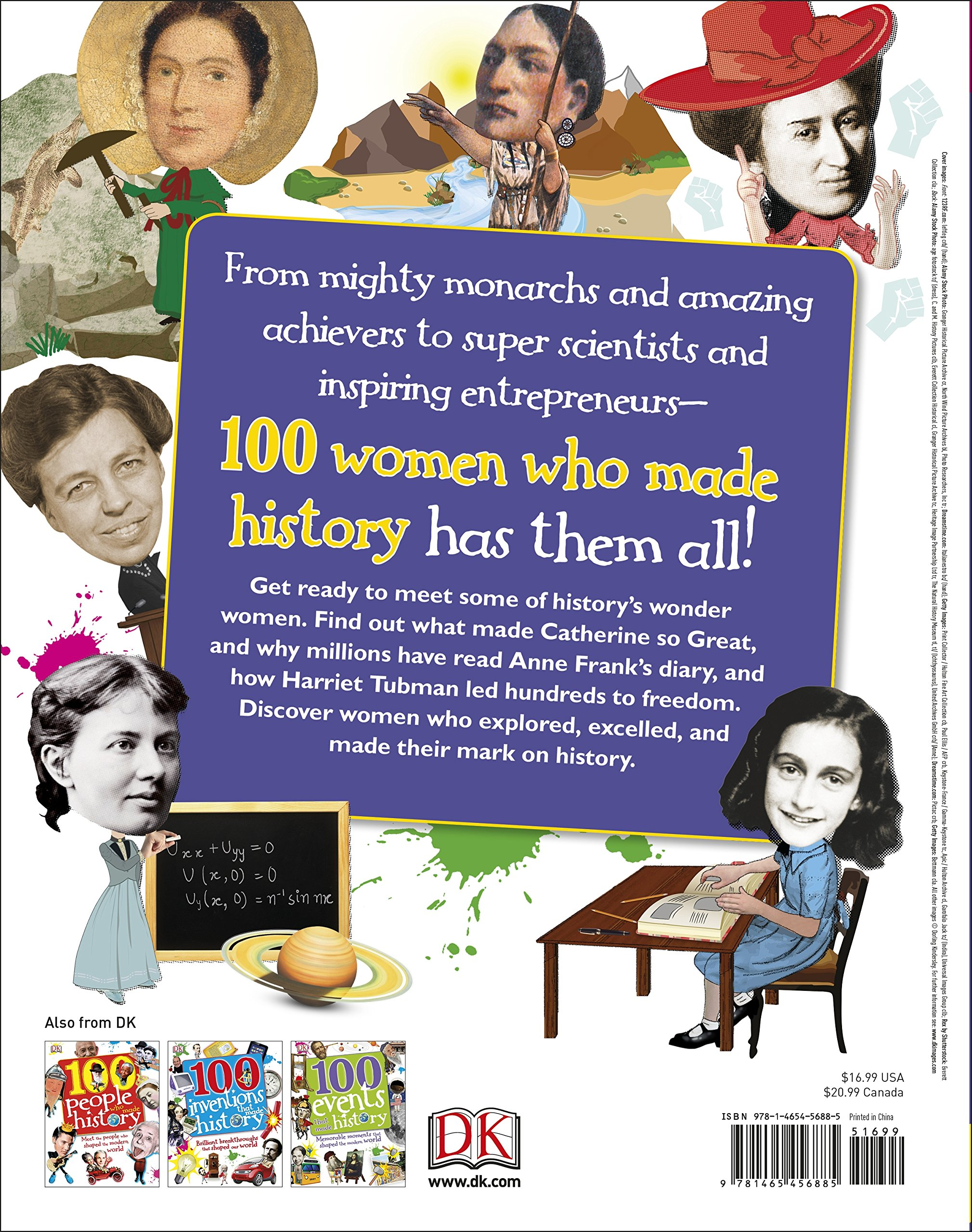 100 Women Who Made History: Remarkable Women Who Shaped Our World (100 in  History): DK: 9781465456885: Amazon.com: Books