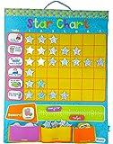 Reward Chart / Star Chart Fabric Wall Hanging - Blue